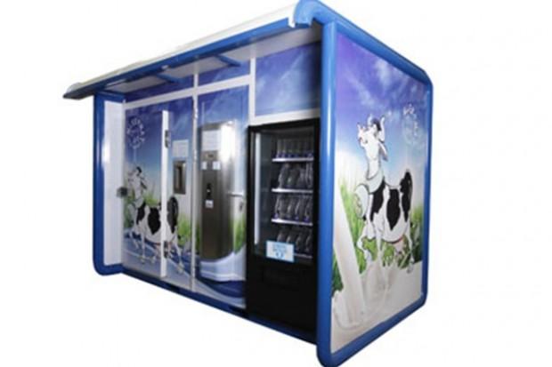 Mlekomat nagrodzony przez Instytut Wzornictwa Przemysłowego