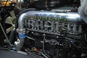 Valtra z biogazem i SCR
