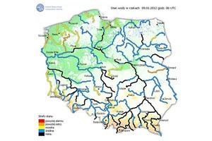 IMGW: Przekroczony stan alarmowy w niektórych rzekach
