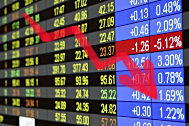 Spadki cen na giełdach terminowych