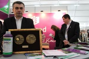 Kazgod z medalem Agrotech 2012
