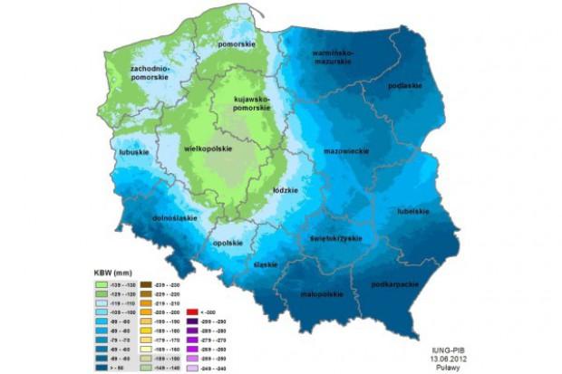 W niektórych regionach nadal sucho