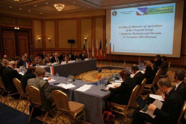 Ministrowie rolnictwa z regionu przeciw zmniejszeniu budżetu WPR