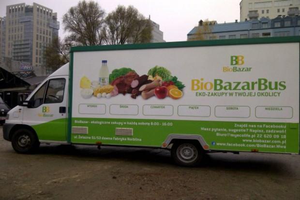 Ekologiczna żywność z samochodu