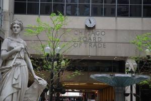 Ostra przecena zbóż na giełdzie w Chicago