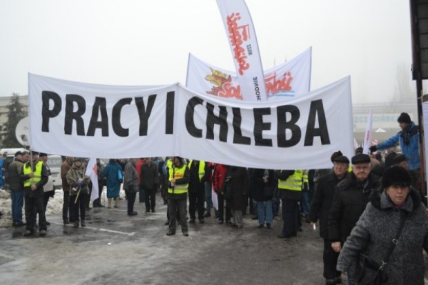 Protest w Szczecinie bez przełomu