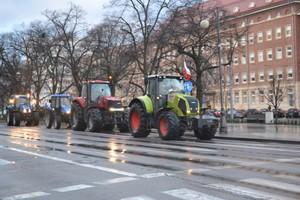 Protest na czterech drogach krajowych