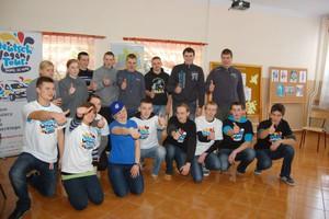 Deutsch-Wagen-Tour w rolniczej szkole