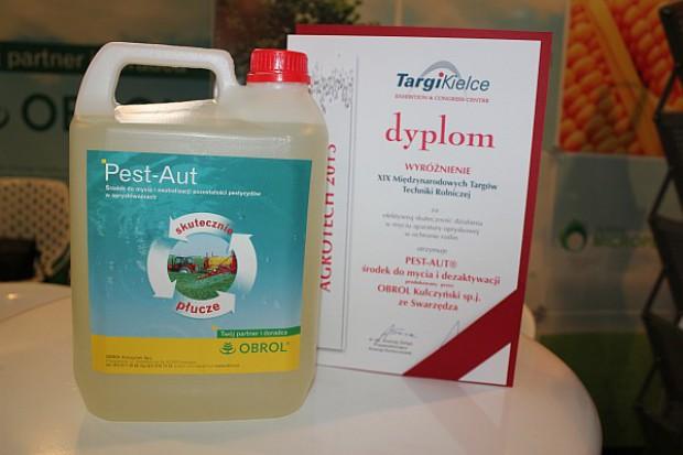 Agrotech: Pest Aut wyróżniony za skuteczność