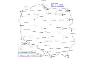 Śnieg zalega  jeszcze w północno-wschodniej Polsce