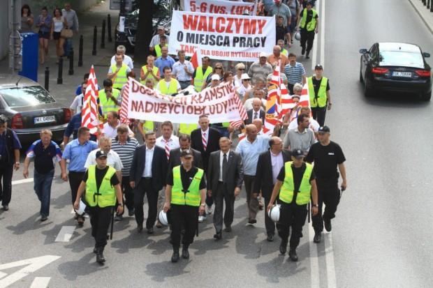 Protestowali przeciwko zakazowi uboju rytualnego