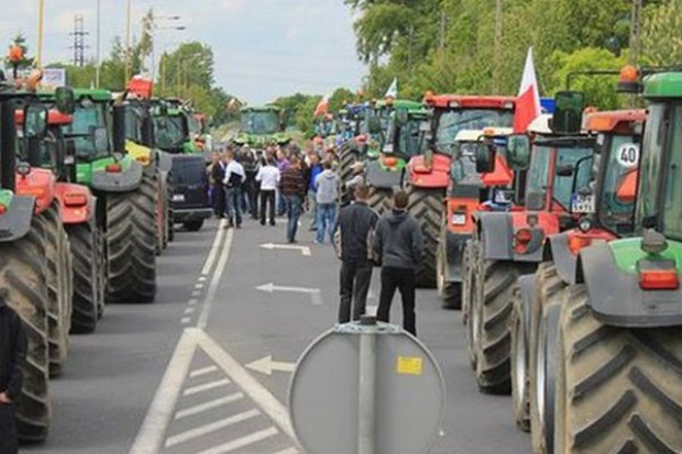 Rolnicy zapowiadają blokadę autostrady A1