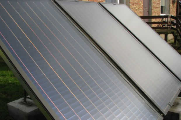 Kolektory słoneczne w podlaskich gminach