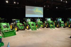 John Deere: 27 modeli ciągników mocy 80-120 KM