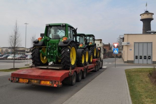 Znaczny spadek zakupu maszyn rolniczych