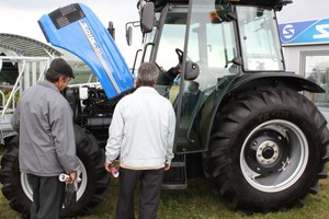 Traktor Solis po raz pierwszy w Polsce