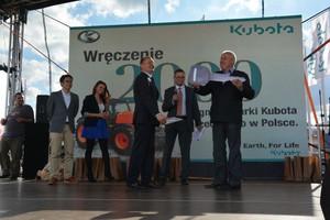 2000 sprzedanych ciągników Kubota w Polsce
