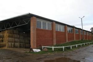 Lekka konstrukcja budynku dla bydła mięsnego