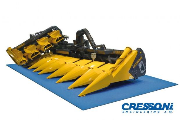 Szeroka przystawka Cressoni łatwa w transporcie