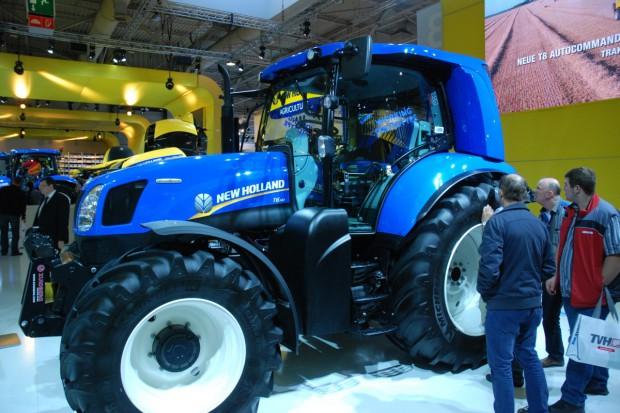 New Holland: ciągnik T6.140 zasilany metanem