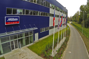 Mitas zainwestował miliard koron w fabrykę