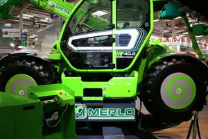Agritechnica: Merlo prezentował ładowarki w ruchu