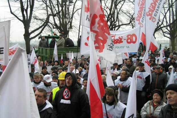 W Szczecinie protest w ANR i na Szczerbcowej