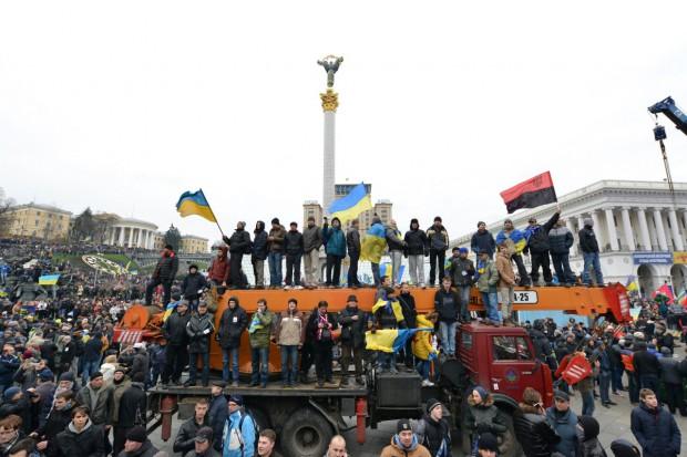 Protestujący w Kijowie zajęli ministerstwo rolnictwa