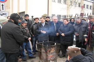 W Szczecinie Solidarność broni rolników