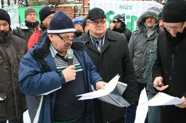 W Szczecinie zmiana formy protestu