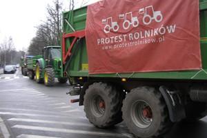 Protest rolników bez incydentów