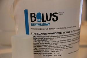 Moc elektrolitów w bolusie
