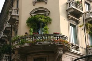 Zielony balkon