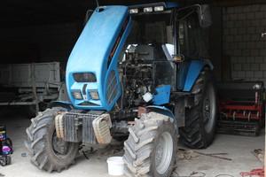 Wymiana pompy hydraulicznej w Pronar MTZ