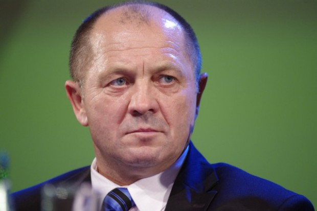 Minister Marek Sawicki obrzucony jajkami