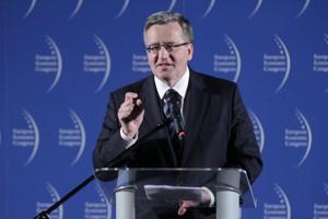 Komorowski: energetyka i fundusze VC polami działania dla Luksemburga