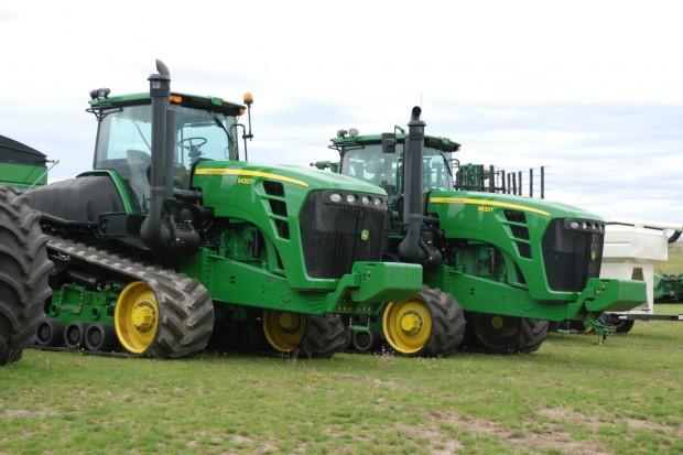 Wielkie farmy – potężne maszyny