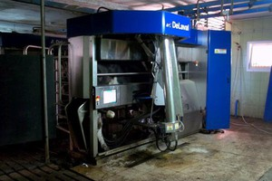 Robot w stodole