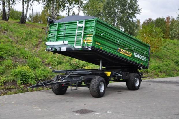 Zasław: zmiany w przyczepach o ładowności 8 ton