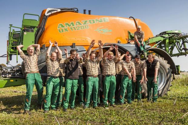 Amazone pryska ponad 1000 ha w 24 godziny