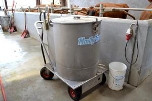 Taksówka mleczna - sprawne i zdrowe żywienie cieląt