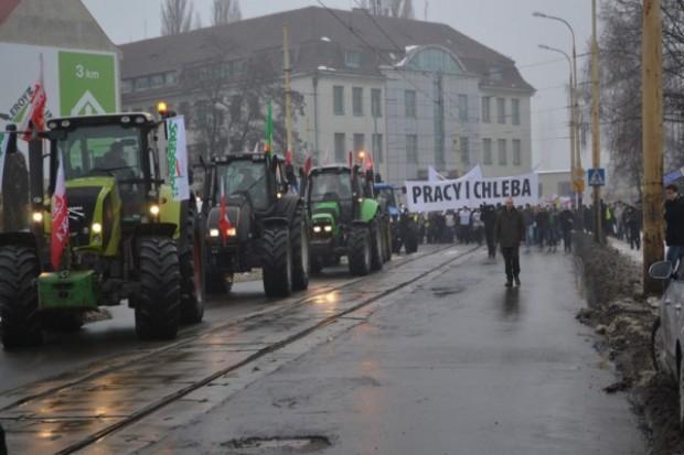 Rolniczy związkowcy przyłączą się do protestu górników