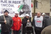 Protest rolniczy w Stargardzie Szczecińskim