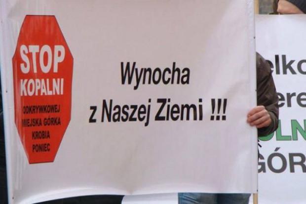 Rolnicy protestują przeciwko planom budowy kopalni