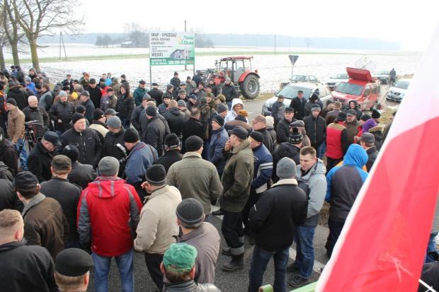 """Rozpoczęła się manifestacja rolników z NSZZ """"Solidarność"""""""