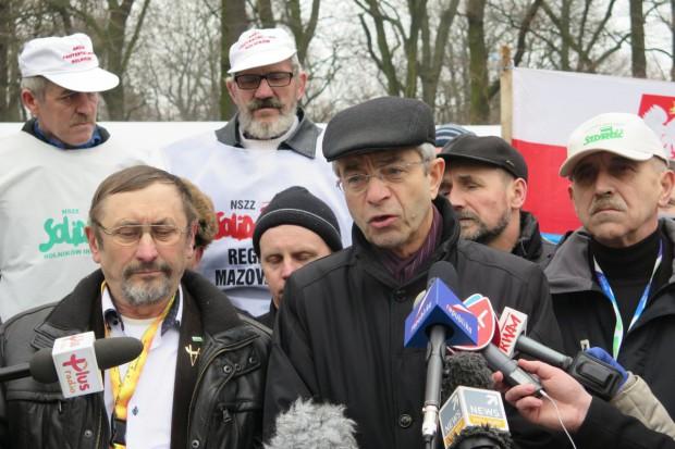 """NSZZ """"Solidarność"""" RI przedłuża protest do 20 marca"""