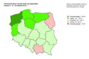 Wskaźnik zieleni – ocena stanu upraw
