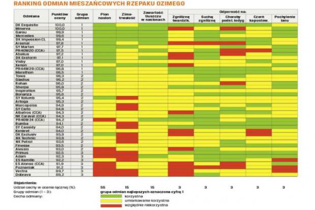PSPO: 14 najlepszych odmian rzepaku mieszańcowego
