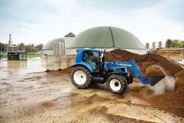 New Holland - istotna rola biometanu w przyszłości rolnictwa