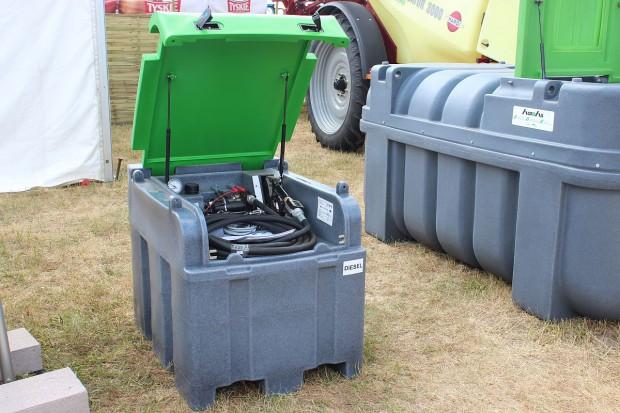 Fortis Box – kompaktowy zbiornik na olej napędowy